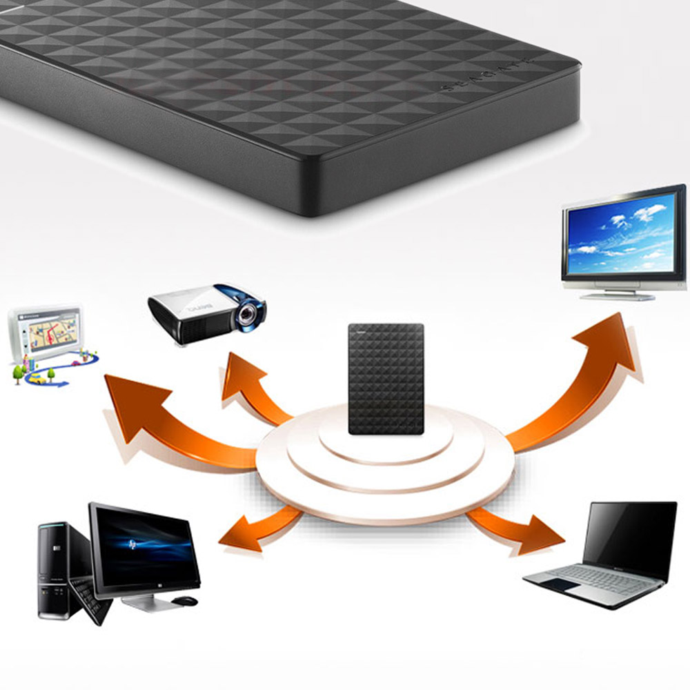 Seagate Expansion HDD 500 GB 1 TB 2 TB 4 TO Portable disque dur externe Disque USB 3.0 HDD 2.5