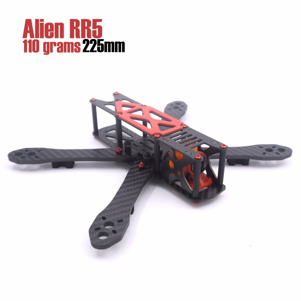 LEACO RC Alien RR5 5 inch 225mm 110g aluminum screws and nuts quadcopter drone frame kit new 225mm cabinet knobws