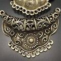 Graceangie 3 unids aleación antiqued moda accessorieshot conector encanto de la decoración de la joyería 63*44mm 03160