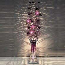 Домашний арт-деко, цветочный торшер, итальянский современный роскошный торшер, напольный светильник для столовой, светильник для пола, элегантный цветочный торшер