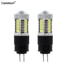 White 6000K High power No error hp24w G4 12v led drl light for peugeot 3008 5008 citroen C5 accessories Day Lights 2pcs