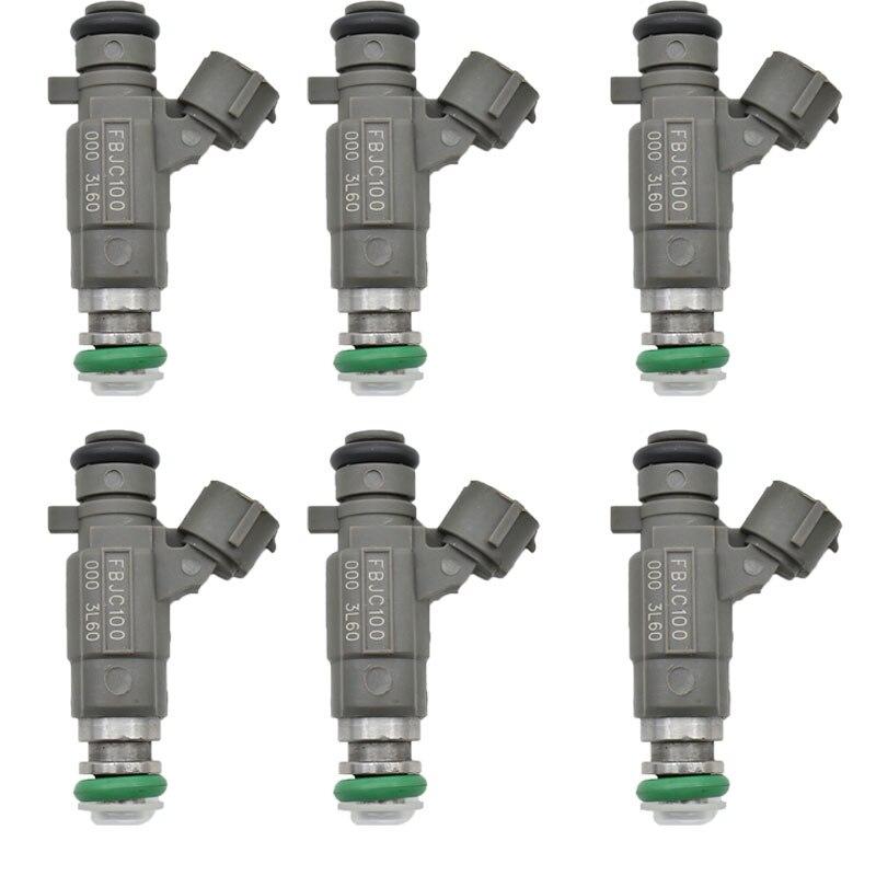 6Ps lot 16600 AE060 Fuel Injector FBJC100 For NIssan Altima Murano Maxima 3 5L Q45 FX45