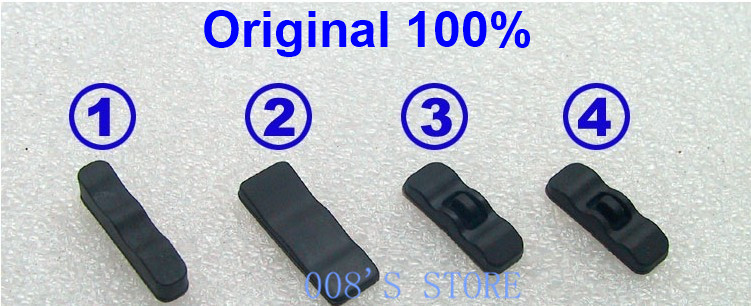 1 Set Original Laptop Rubber Feet Non-slip For Lenovo ThinkPad X220 X230 X220I X200 X201 X201s X201i T60 T61P R61 R61i R400 W500