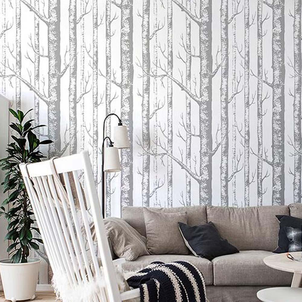 Personalizado 3d Wallpapers Natureza Rvore Abstrata Foto Papel De  ~ Papel De Parede Barato Para Quarto