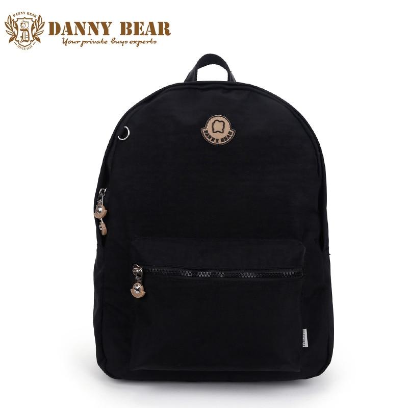 DANNY BEAR Waterproof Nylon Women Backpacks Casual Large Brand Female Backpack Students School Bags Ladies Travel Back Pack Bag