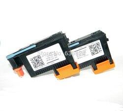 (2 sztuk/zestaw)/Lot darmowa wysyłka do 88 C9381A + C9382A głowica drukująca czarny/żółty + MAGENTA/cyjan do drukarki HP L7580 7590 K5400 K550
