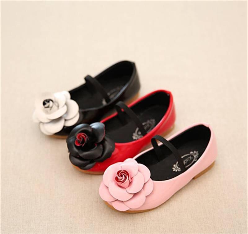 Summer 2017 Korean childrens shoes female big boy princess shoes childrens peas shoes anti-skid wear shoes spring