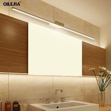 Flat tube wall mounted sconce lights Cheap decoration bathroom led mirror light High Quality led mirror light led indoor lamps