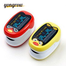 Yongrow barn barn Finger Pulse Oximeter for Pediatrisk / Child Oximetro Pulsoximeter De Pulso De Dedo SpO2 Metningsmeter