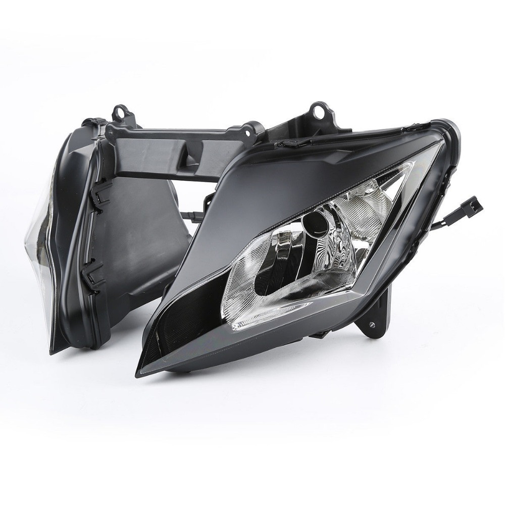 Home Motorcycle Front Headlight Head Light Lamp Assembly For Kawasaki Zx10r Zx 10r 2011-2015 2014 2013 2012 Convenient To Cook