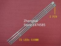 UA46D5000PR LED Strip BN64 01644A 2011SVS46 5K6K H1B 1CH 72LED 510MM 2 Pieces Lot