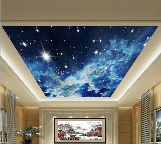 Aliexpress com Buy Free shipping Planet Starry Night Sky Universe Sand  Suspended Ceiling Living Room Bedroom. Starry Night Bedroom