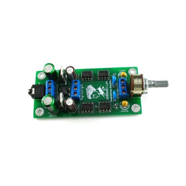 P7 SE 15V di Bordo Preamplificatore Amplificatore Per Cuffie Bordo Finito
