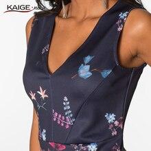 2017 Mini Fashion Leisure Summer Dress Personality Dresses Hot Sale Women Apparel High-Quality Printing V-Neck Sleeveless 1814