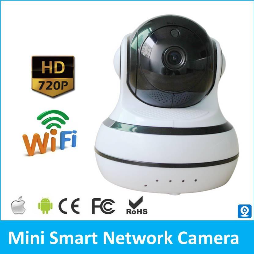 Surveillance Camera Q10  P2P IP Camera Pat Monitor Two Way Audio WiFi Camera Intercom Recorder TF Card Storage alarm System