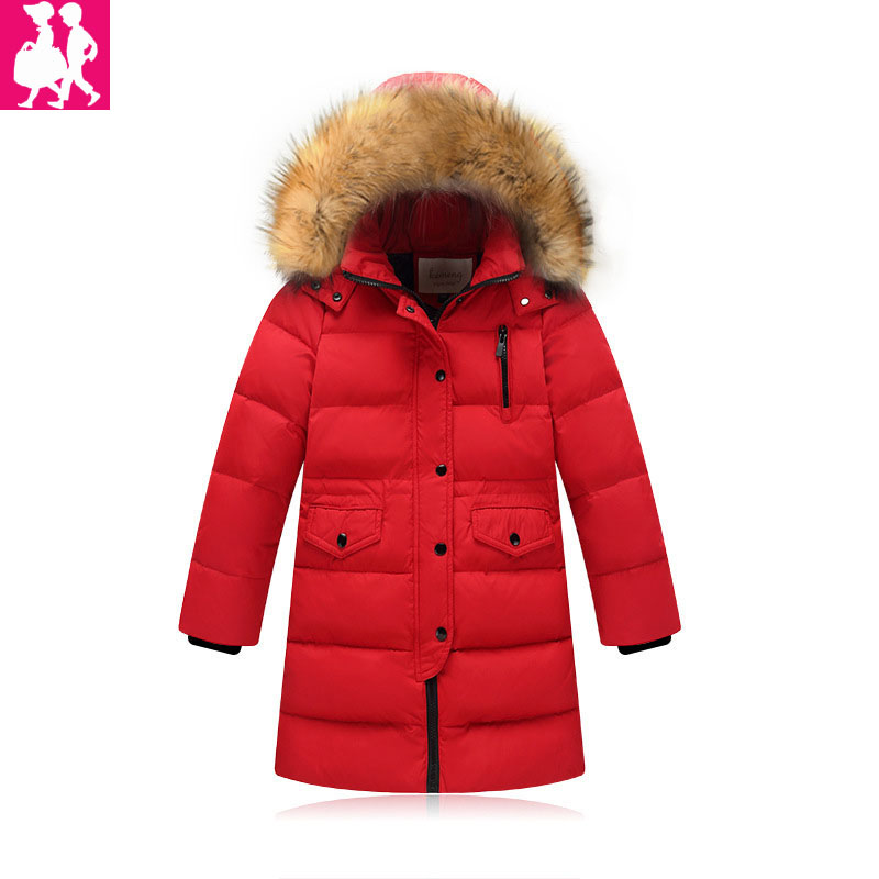 2018 New Style Winter Jacket For Girls Boy Parka Down Coat Outerwear Children Kids Jackets Thickening