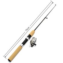 High Quality Ice Fishing Rod Carbon Fiber Fishing Rod Mini Pole Fishing Rods Winter Fishing Tackle