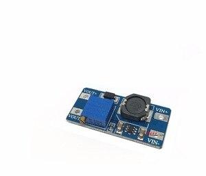 Image 1 - 100 ชิ้น MT3608 DC DC ขั้นตอนตัวแปลงผู้สนับสนุนแหล่งจ่ายไฟโมดูล Boost ขั้นตอนบอร์ดเอาต์พุตสูงสุด 28 โวลต์ 2A สำหรับ Arduino