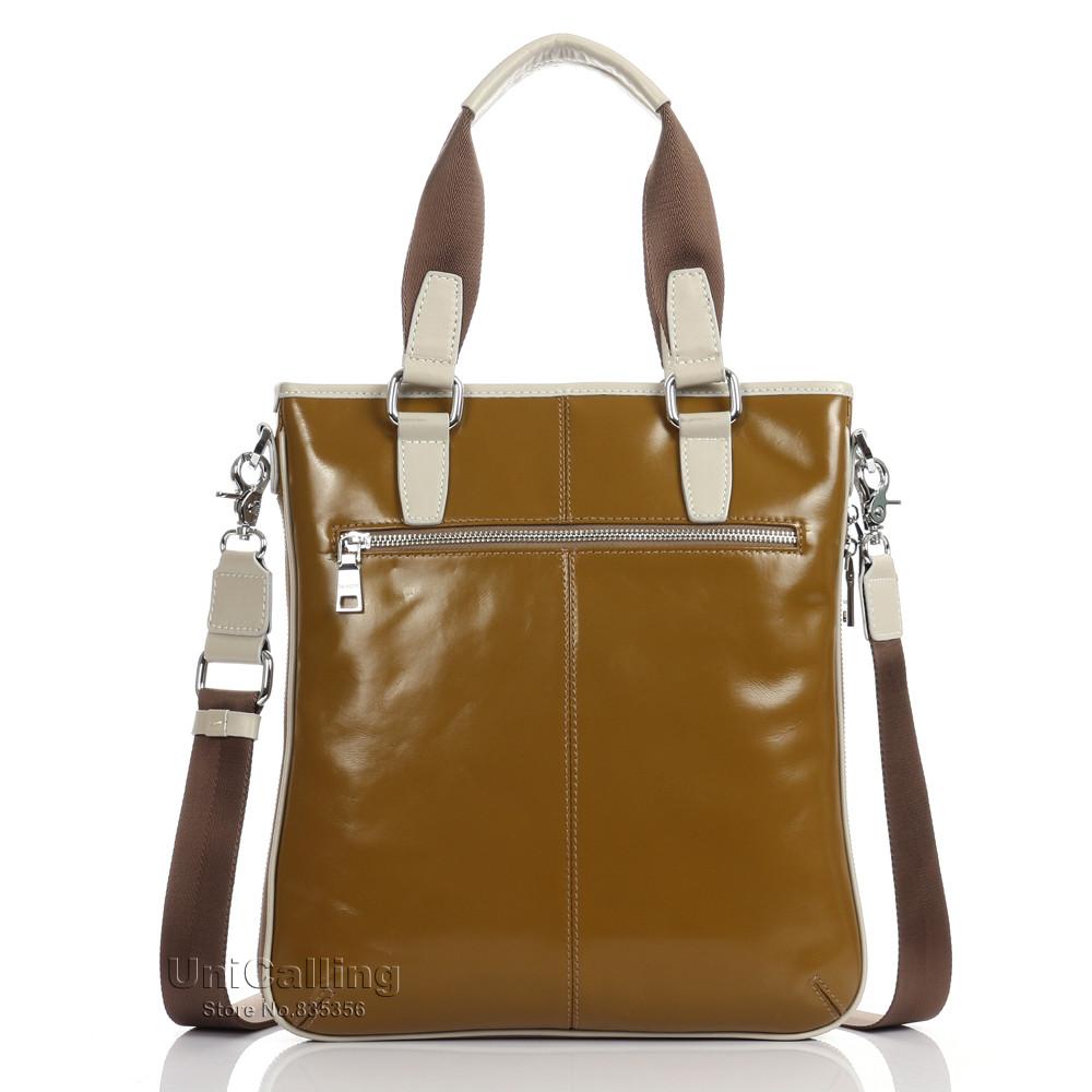 e0c1648cf526 Бренд моды для мужчин сумка мужская нефть воск из натуральной кожи ...