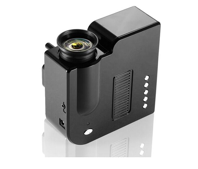 Barato GP5S 1920x1080 P Mini LED Proyector HD negocio Comercial cámara GP5S Proyector de cine en Casa Mini Proyector Espectáculo Trown