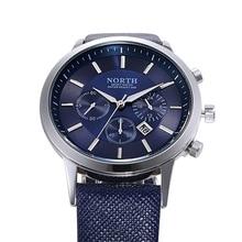 Genuine Leather Casual Wristwatch