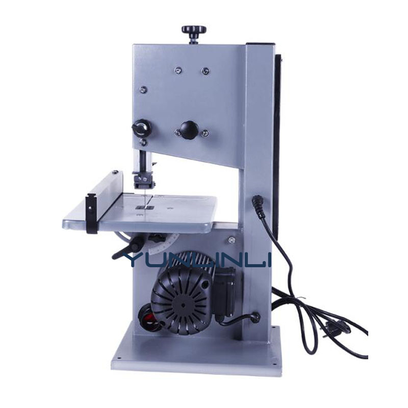 8 Inch Band Saw for Wood 220V Multifunctional Wood Band Sawing Machine Cutting Machine Installation Work Table Saws 550w 10 inch band sawing machine s0256 band saw joinery sawing machine