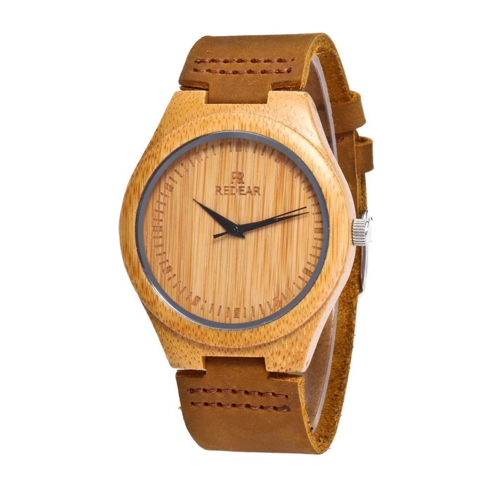 para Homens Handmade Casamento Banda Quartzo Relógio