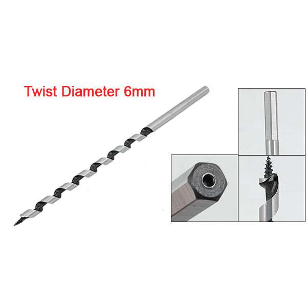 Hho 6mm Long Combination Wood Borer Carpente Auger Drill Bit Back To Search Resultstools Drill Bits