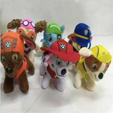 Hot Sell New Styles Paw Patrol Dog Stuffed Doll Plush Toys For Children Birthday Gifts