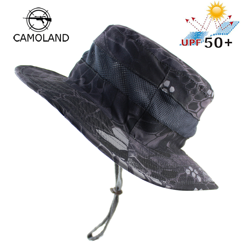 0525ad946e0 UPF 50+ Quick-drying Bucket Hat Summer Men Women Boonie Hat Outdoor UV  Protection