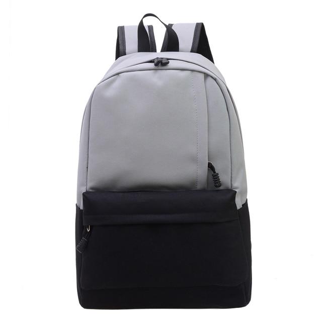Мужчина и женщина студент Мешок школы подросток девушка водонепроницаемый нейлон путешествия рюкзак bolsa para la escuela повелительницы рюкзак