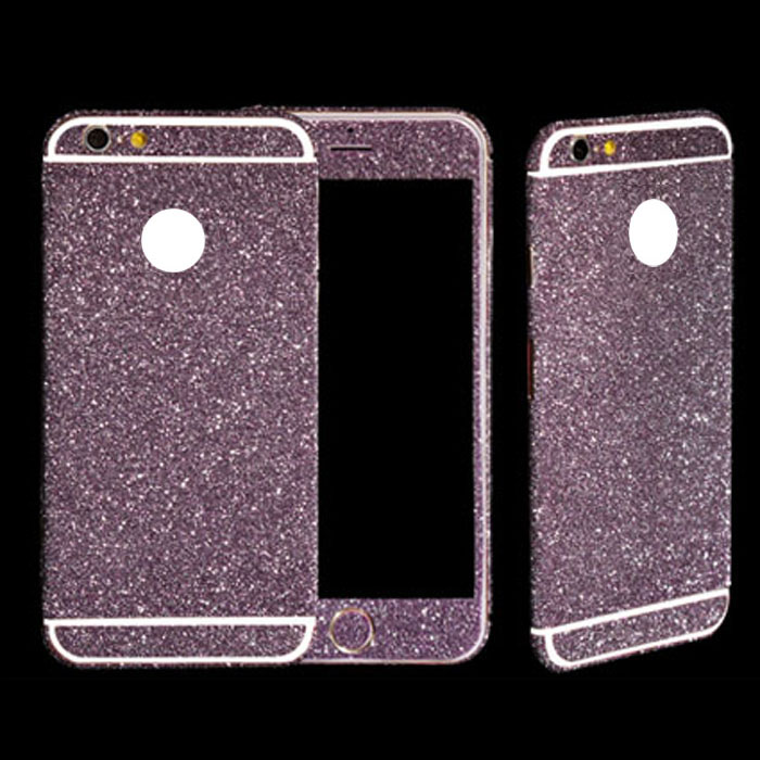 purple glitter case for iphone 6