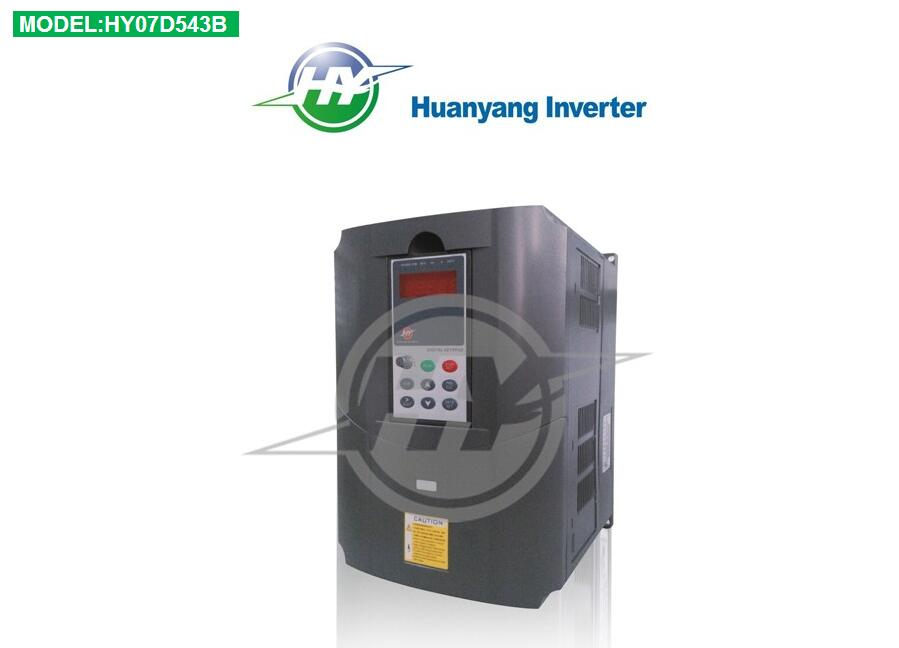 Ventes directes d'usine d'inverseur de convertisseur de fréquence d'entraînement à ca de 7.5KW 380 V VFD HUANYANG