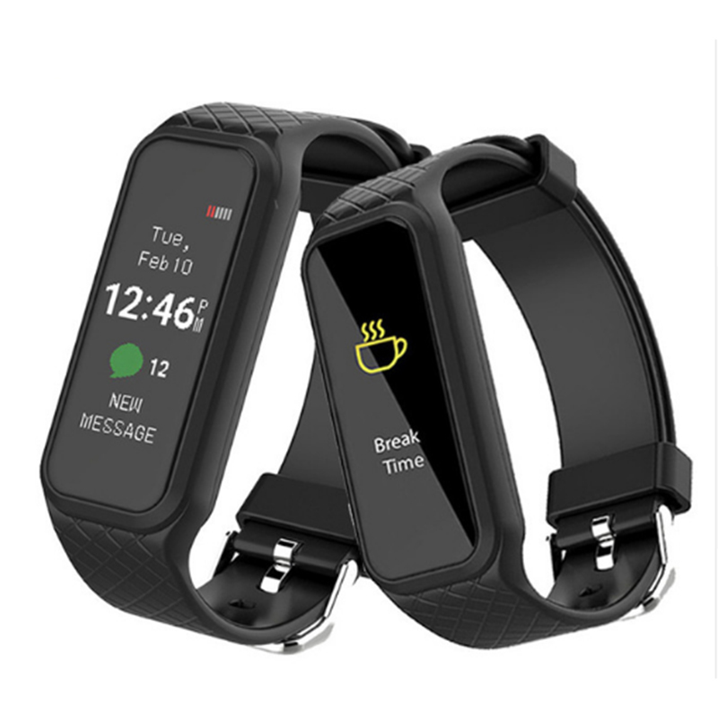 WB S I 38i Waterproof Bluetooth 4 0 Smart Wristband Heart Rate Monitor Fitness Tracker Colorful