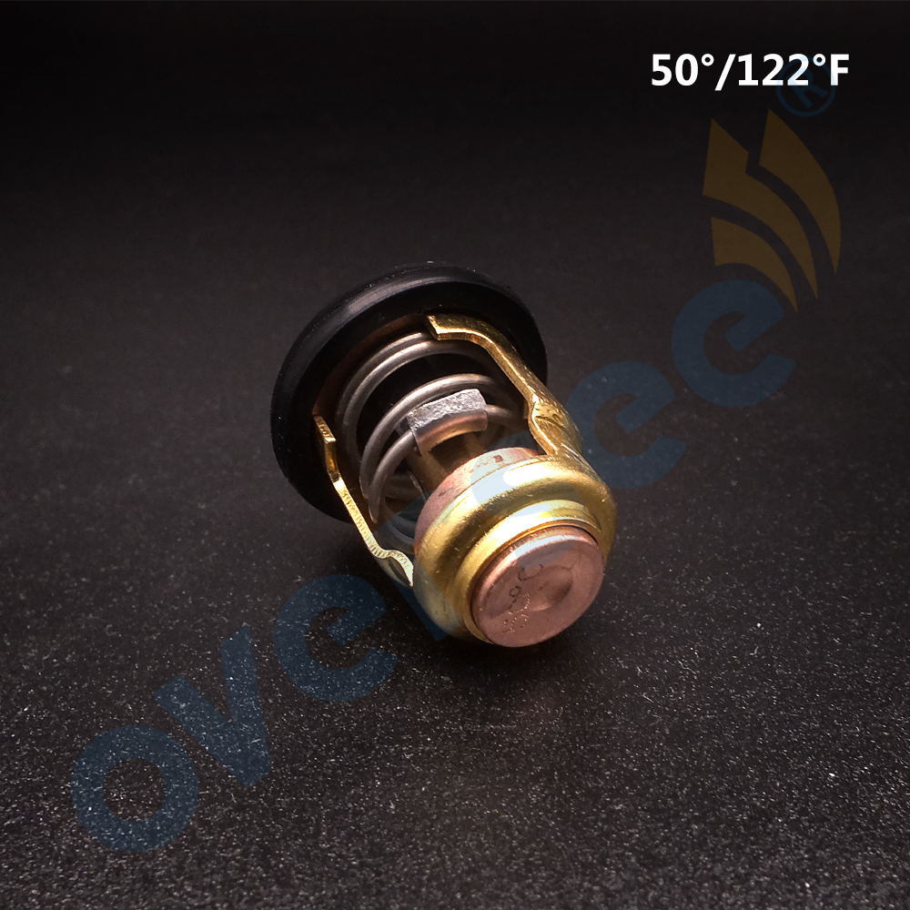Boat Engine Thermostat 6E5-12411 688-12411 6H3-12411 6E5-12411-10 for Yamaha FOR SUZUKI Outboard Motor 15 25HP 30HP 40HP 220HP fuel pump 15200 87j10 15200 87j00 for suzuki outboard engine df40 df50 40hp 50hp