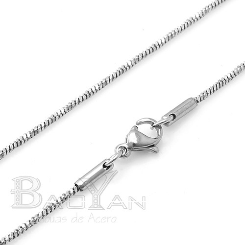 new design snake stainless steel chain