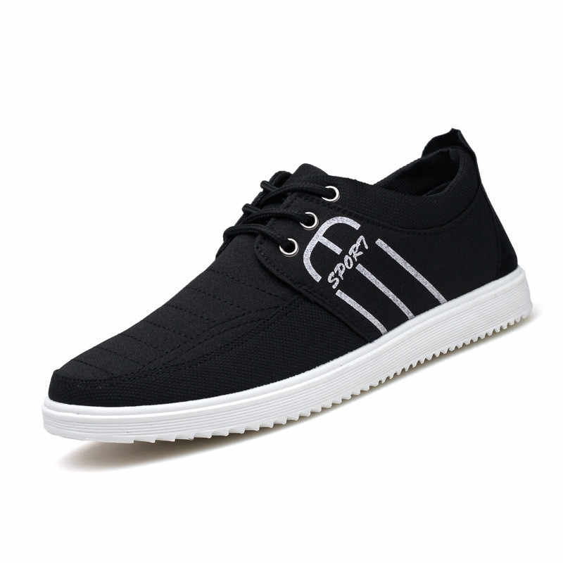 Mens Casual Canvas Shoes 2018 Summer Casual Comfortable Breathable Sneakers Men Fashion Boys Light Tenis Shoes for Man Shoes