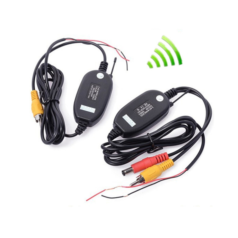 Wiring-Kit Vehicle-Cameras Easy-Installation Wifi Wireless-Transmitter/receiver DC Car