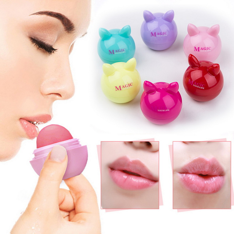 Shea Butter Moisturizer Lip Balm Women Makeup Long Lasting