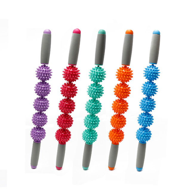 Anti Cellulite Massager Stick Anti-Cellulite Trigger Point Stick Body Foot Face Leg Slimming Massage Muscle Roller 4