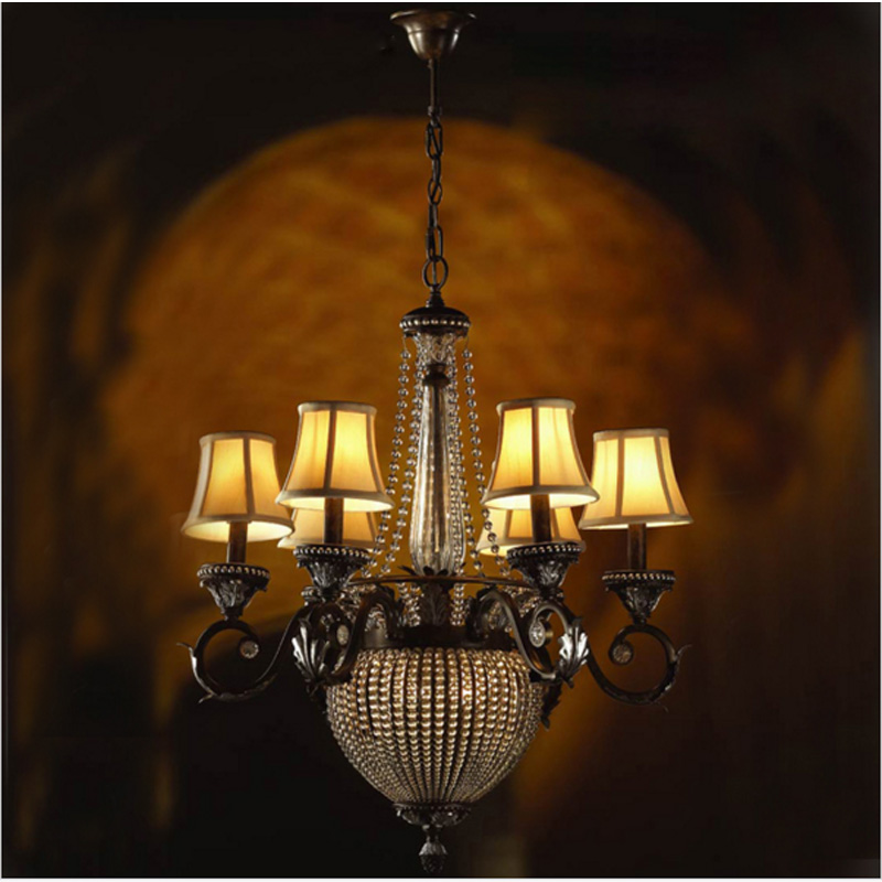 Lamp room living room crystal chandelier double deck Villa Hotel chandelier Double building American Italian crystal lamp light villa hotel lobby crystal lamp european style jump floor building long chandelier