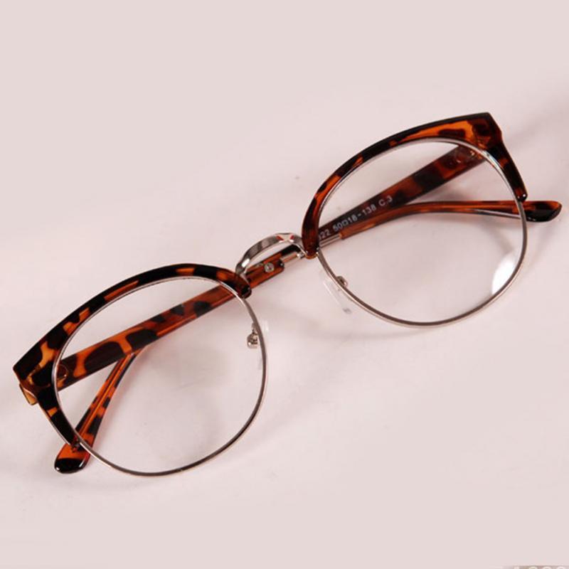 Neuen Stil Anti Strahlung Brille Normale Glasschauspiele Frauen ...