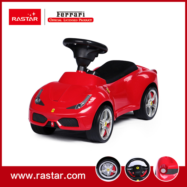 Rastar Licensed Ferrari 458 speciale A ride on car with horn sound foot to floor car with leather seat 83500