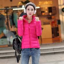 Winter Coat Female Jackets 2016 New Winter Jacket Women Parka Short Slim Thickening Warm Down Wadded Jacket Outerwear