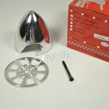 Cnc hợp kim nhôm spinner 3.5 inch/89 mét hai lưỡi prop đặc biệt khoan cho dle55 eme55 dle30 động cơ