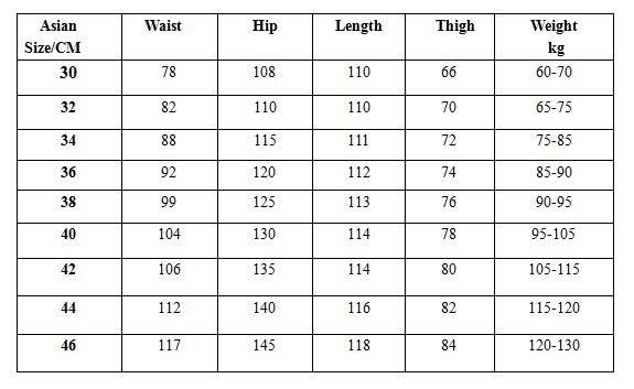 Männliche Hip Hop-Baggy-Jeans für Männer mit breitem Bein - Herrenbekleidung - Foto 5