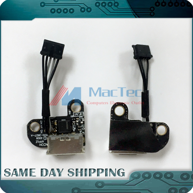 """Brand New 820-2627-A 922-9176 for Apple Macbook 13"""" A1342 2009 2010 Magsafe Board DC-IN Power Jack Cable MC207 MC516"""