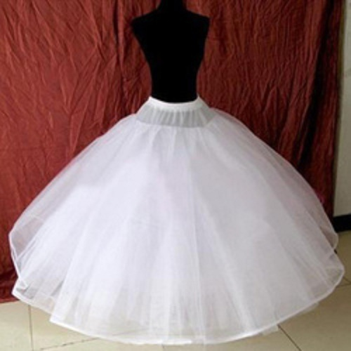 8 layers Underskirt Slip Wedding Accessories Chemise without Hoops For A Line Wedding Dress Wide Plus Petticoat Crinoline 017