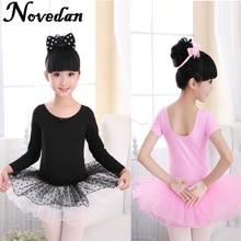 Novedan Infant Toddler Kids Children Ballet Tutu Dress Dance Costume Pink Fairy Girls For Dancewear