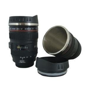 Free shipping CPAM stainless steel Coffee camera lens mug cup (Caniam) logo the 5th generation Wholesale